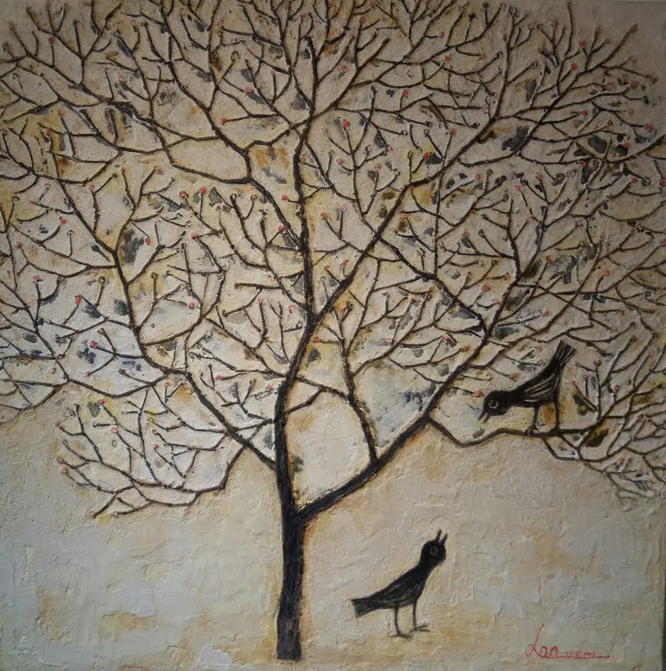 32x32 Arbre et Oiseaux