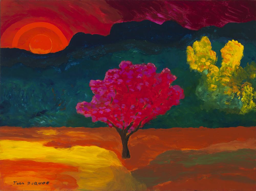 38x51 L'arbre rouge du Japon - hi res
