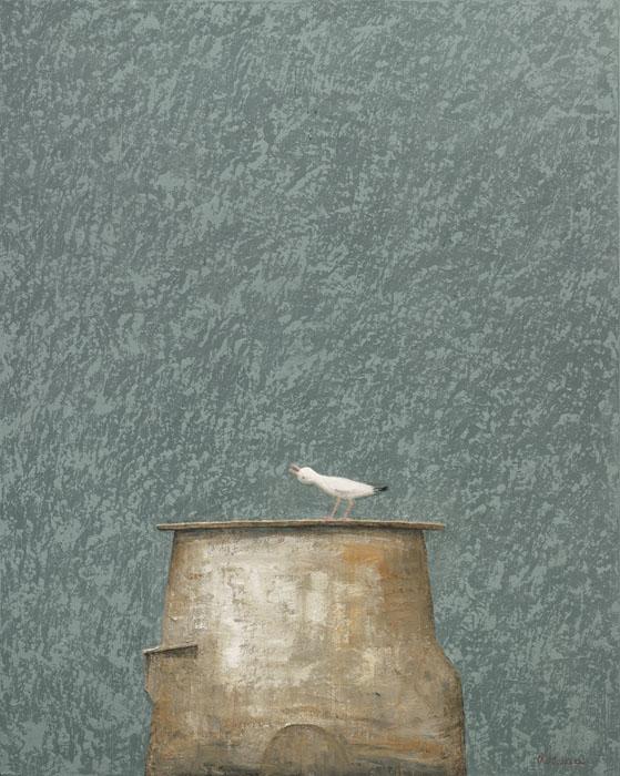40 x 32 - Souvenir de Paysage II