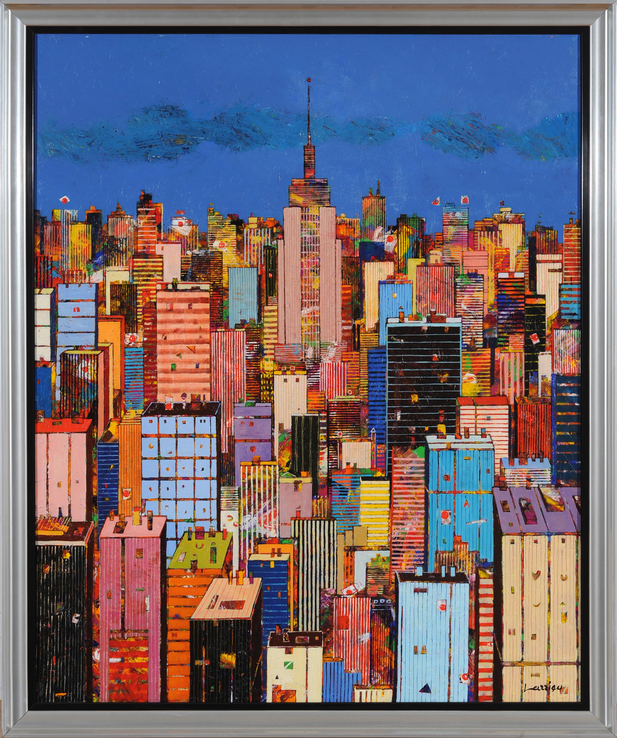 40x32 Manhattan - w frame - lo res