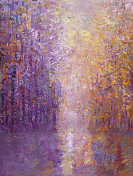 48 x 36 Forest Series - Light Enters