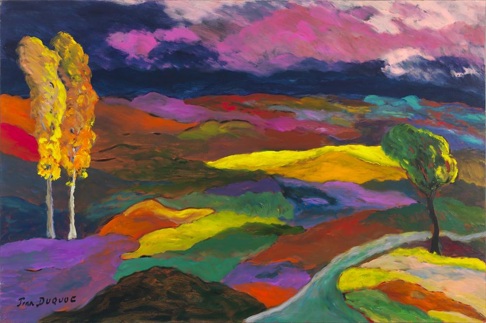 51x77 La passion d'un paysage qui chante ses couleurs - hi res