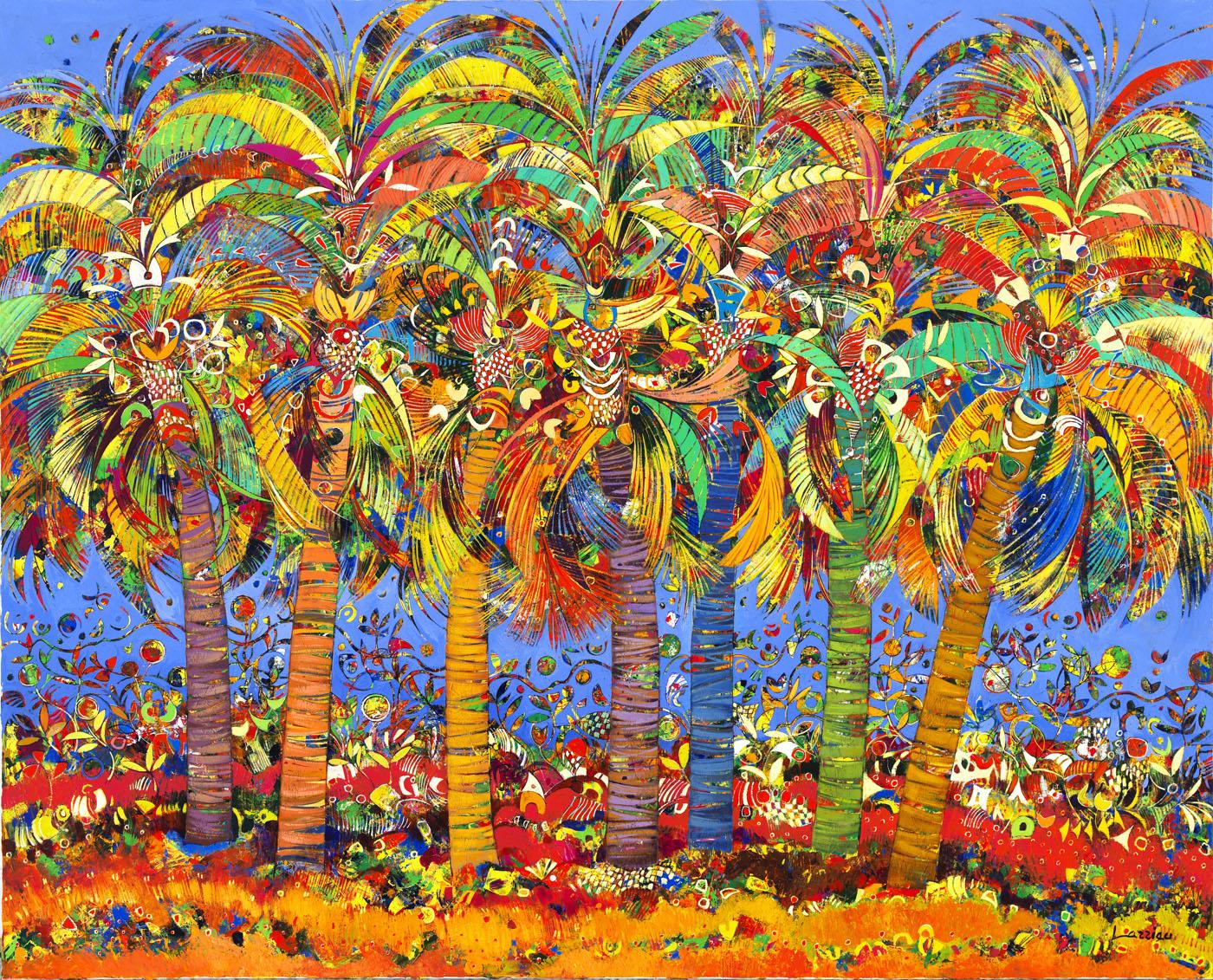 52x64 Palm Trees hi res