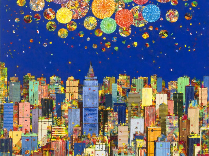 64x52 Manhattan Celebration  hi res