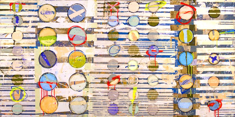 Fibonacci 317 size 36x72 w resin finish