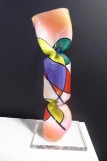 17 inches (40 cms) Bonbon Impression d'Automne - Unique - View 1