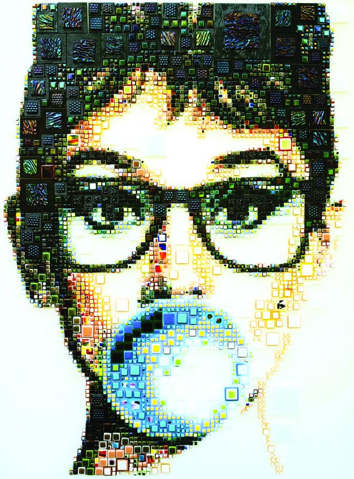 Funny Audrey - 54x42