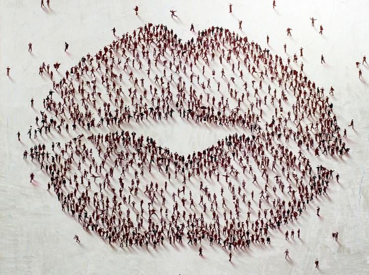 40 x 40 Rouge Kiss