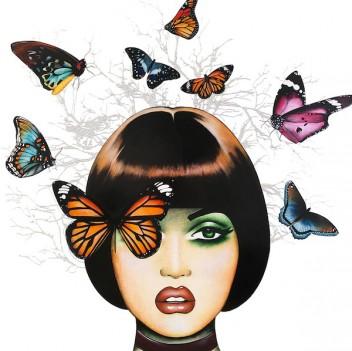 48 x 48 Miss Monarch