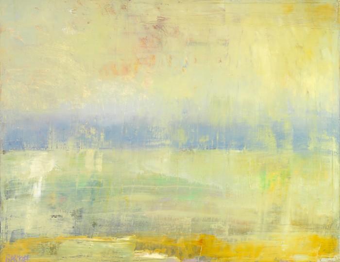 48 x 60 Sunrise Lake